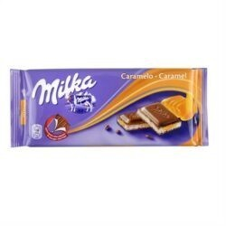 products milka tablet caramel