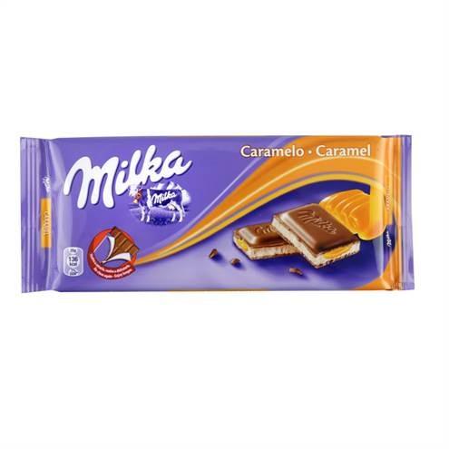 Milka Tablet karamel