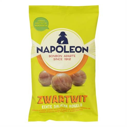 products napoleon zwart wit kogels