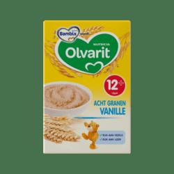 products olvarit acht granen vanille 12 maanden