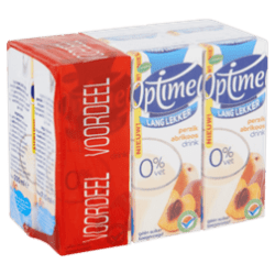products optimel langlekker drinkyoghurt perzik abrikoos multipack