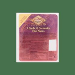 products patak s original 4 garlic coriander mini naans