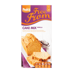 products peak s free from cakemix vanille