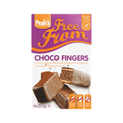 products peak s free from choco fingers