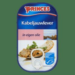 products princes kabeljauwlever in eigen olie