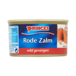 products princes rode zalm 213g