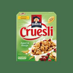 products quaker cruesli appel rozijn 1