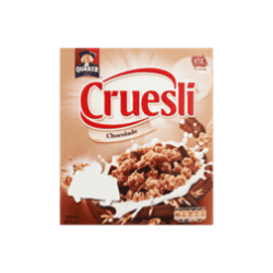 products quaker cruesli chocolade