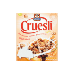 products quaker cruesli multifruit
