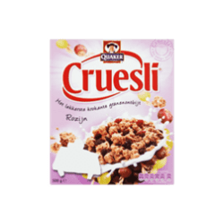 products quaker cruesli rozijn
