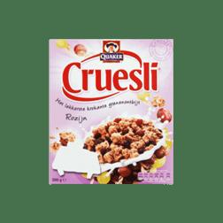 products quaker cruesli rozijn