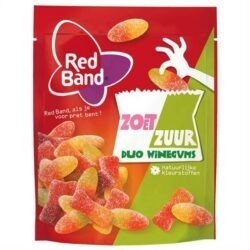 products red band winegum zoet zuur