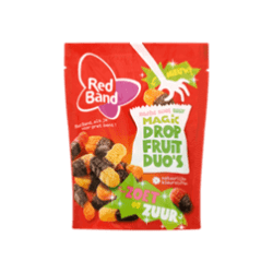 products red band zacht zoet zuur magic drop fruit duo s