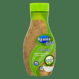 products remia salata dressing bereid met fijne kruiden ui en paprika
