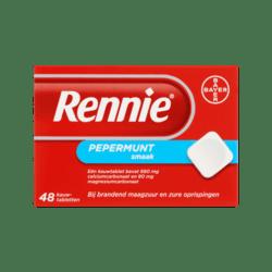 products rennie pepermunt smaak kauwtabletten