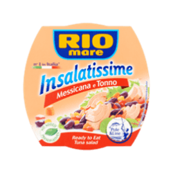 products rio mare ready-made dish with vegetables and tuna