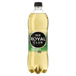 products royal club ginger ale fles