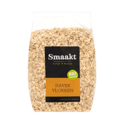 products smaakt like organic oat flakes