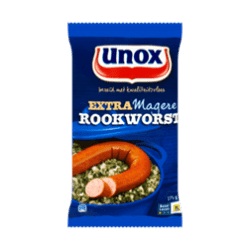 products unox extra magere rookworst