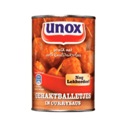 products unox gehaktballetjes in currysaus 1