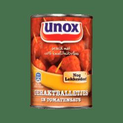 products unox gehaktballetjes in tomatensaus