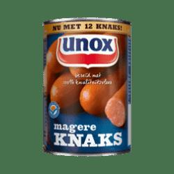 products unox knakworst magere knaks