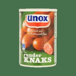 products unox sausage beef knaks
