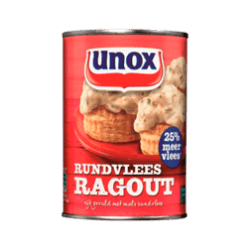products unox ragout rundvlees