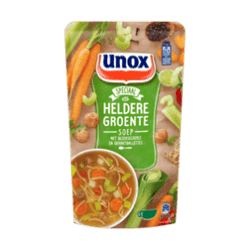 products unox soup Dutch vegetable soup