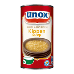 products unox soep in blik kippensoep