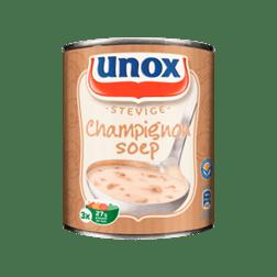 products unox soep in blik stevige champignonsoep