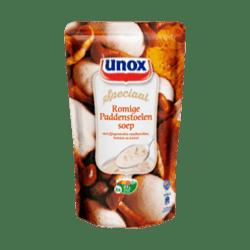products unox soep in zak bospaddenstoelensoep