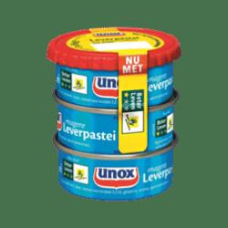 products unox vleeswaren leverpastei mager