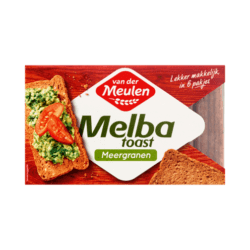 products van der meulen melba toast multigrain