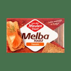 products van der meulen melba toast sesame