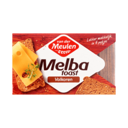 products van der meulen melba toast wholemeal