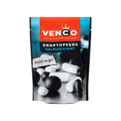 products venco droptoppers salmiak mint