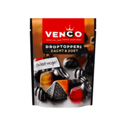 products venco droptoppers zacht zoet