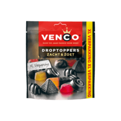 products venco droptoppers zacht zoet xl