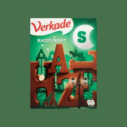 Verkade letter melk-hazelnoot (willekeurig)