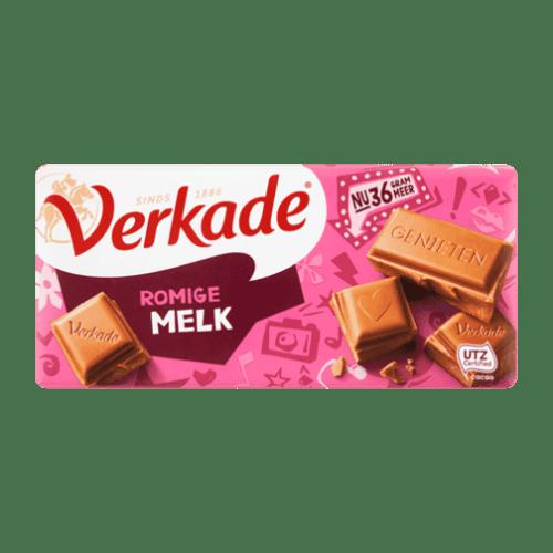 products verkade romige melk