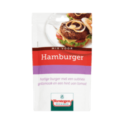 products verstegen mix voor hamburger