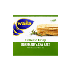 products wasa delicate crisp rosemary sea salt