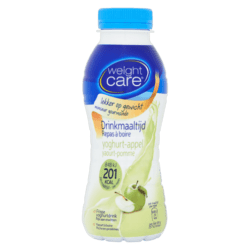 products weight care drinkmaaltijd yoghurt appel
