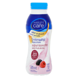 products weight care drinkmaaltijd yoghurt bosvruchten