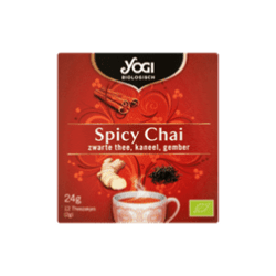 products yogi organic spicy chai black tea cinnamon ginger