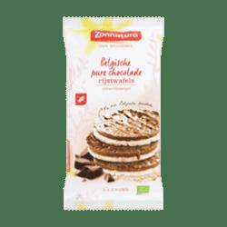 products zonnatura belgische pure chocolade rijstwafels